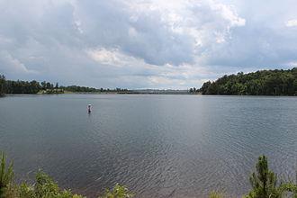 Hickory Log Creek Dam - Hickory Log Creek reservoir