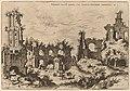 Hieronymus Cock, Ruins on the Palatine with the Septizonium, 1550, NGA 91340.jpg