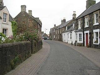 Coldingham village in the United Kingdom