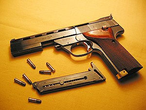 category 22 lr pistols wikivisually rh wikivisually com High Standard Supermatic Browning High Standard