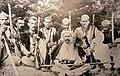 Highland Ghegs of the Dukagjin tribe near Koman on the Drin River, September 1908.jpg