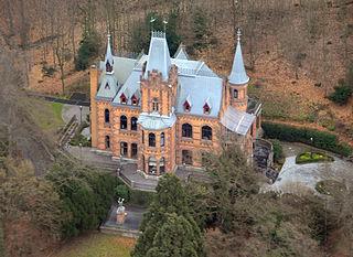 Hirschburg Luftbild 01