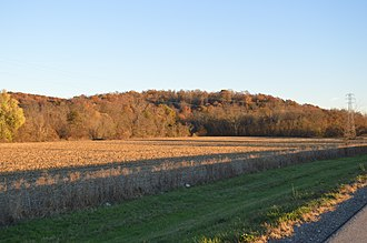 Berne Township, Fairfield County, Ohio - Hocking River valley north of Sugar Grove