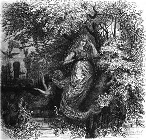 Holda, the gütige Beschüzerin by F. W. Heine
