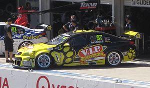 Tekno Autosports - Image: Holden VF Commodore of Shane van Gisbergen 2013