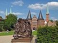 Holstentorplatz in Lübeck. Germany.jpg