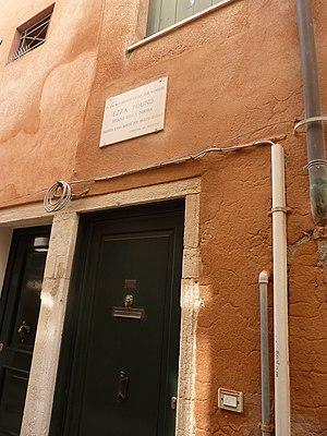 Olga Rudge - Rudge's home in Venice