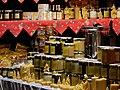 Honigprodukte Verkaufsstand Weihnachtsmarkt.JPG