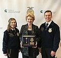 Honored to receive the national FFA Degree from the Michigan State Future Farmers of America! (26087367037).jpg