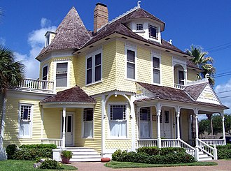 Rockport, Texas - The Hoopes-Smith House in Rockport is listed on the National Register of Historic Places.