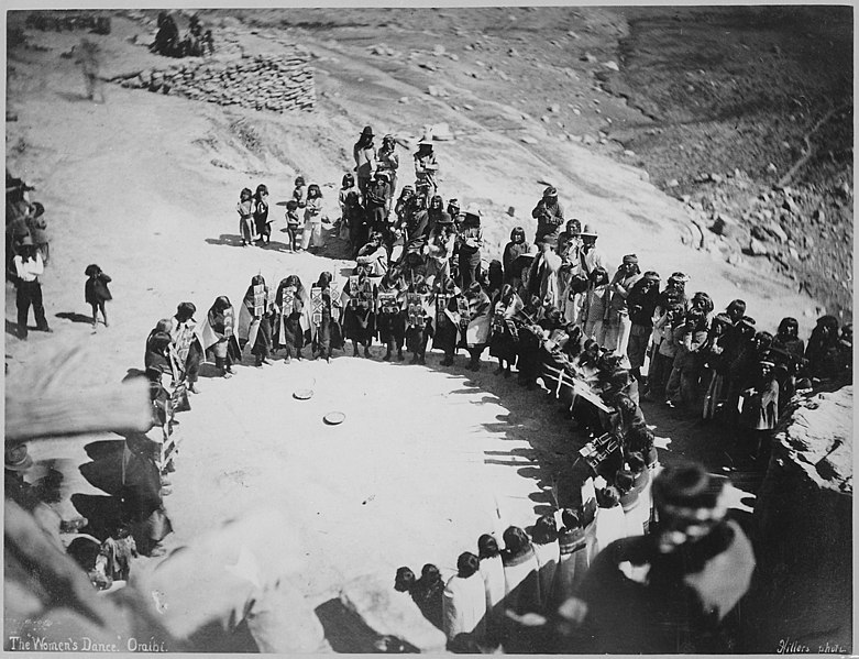 filehopi womens dance oraibi arizona 1879 nara
