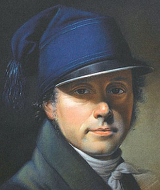 Christian Horneman - Self-portrait (1815)