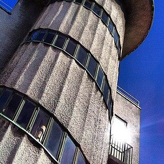 Hotel Astoria (Copenhagen) - Image: Hotel Astoria staircase