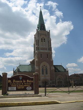 Roman Catholic Diocese of Houma–Thibodaux - St. Francis de Sales Cathedral