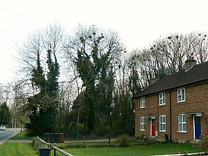 Enham Alamein - Houses, Enham Alamein