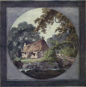 William Payne (painter) - Hovel near Yalmton, Devon