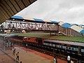 Hubli Railway Station from the overbridge - panoramio.jpg