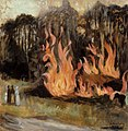 Hugo Simberg - Bonfires - A-2002-599 - Finnish National Gallery.jpg