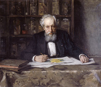 Hugo de Vries - Hugo de Vries at his retirement (Thérèse Schwartze, 1918)
