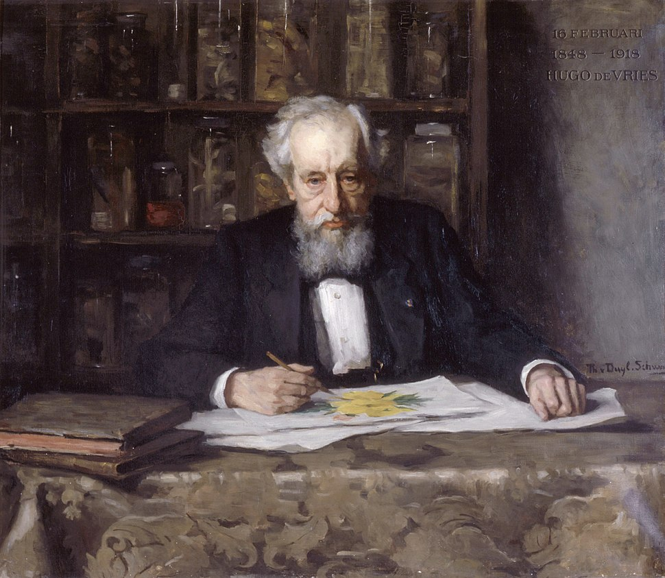 Hugo de Vries (1848-1935), by Thérèse Schwartze (1851-1918)
