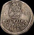 Hun II Rakoczi Ferenc Poltura 1704 NB Huszar 1528 reverse.jpg
