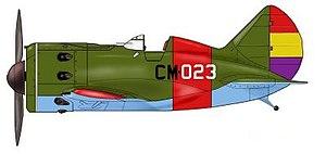 Albert Baumler - Spanish Republican Air Force I-16 Polikarpov