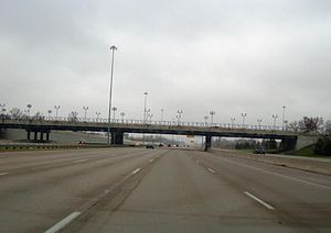 Interstate 270 (Ohio) - I-270 at exit 33