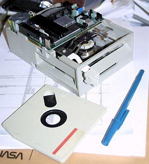 Floppy disk variants - IBM DemiDiskette media and Model 341 FDD