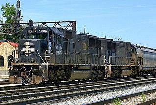 Illinois Central Railroad transport company