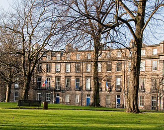 French Institute for Scotland - The former location of the Institute.