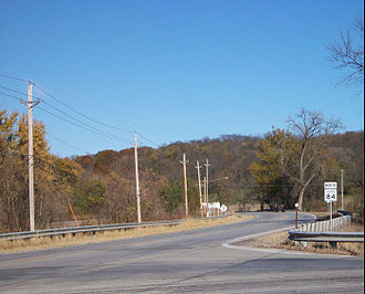 Illinois Route 84 - Route 84 near Rapids City