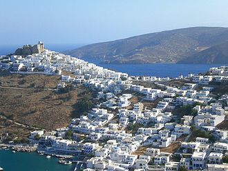 Astypalaia - View of Chora