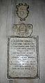 IMG 6191 - Milano - Sant'Eustorgio - Lapide per il vescovo e inquisitore Melchiorre Crivelli (1561) - Foto Giovanni Dall'Orto - 3-3-2007.jpg