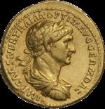 INC-1573-a Ауреус Траян ок.  116-117 гг.  (аверс) .png