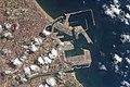 ISS-56 Port de Valencia, Spain.jpg