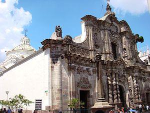 Compañía de Jesús, Quito - Image: Iglesia La Compania, Quito, Ecuador