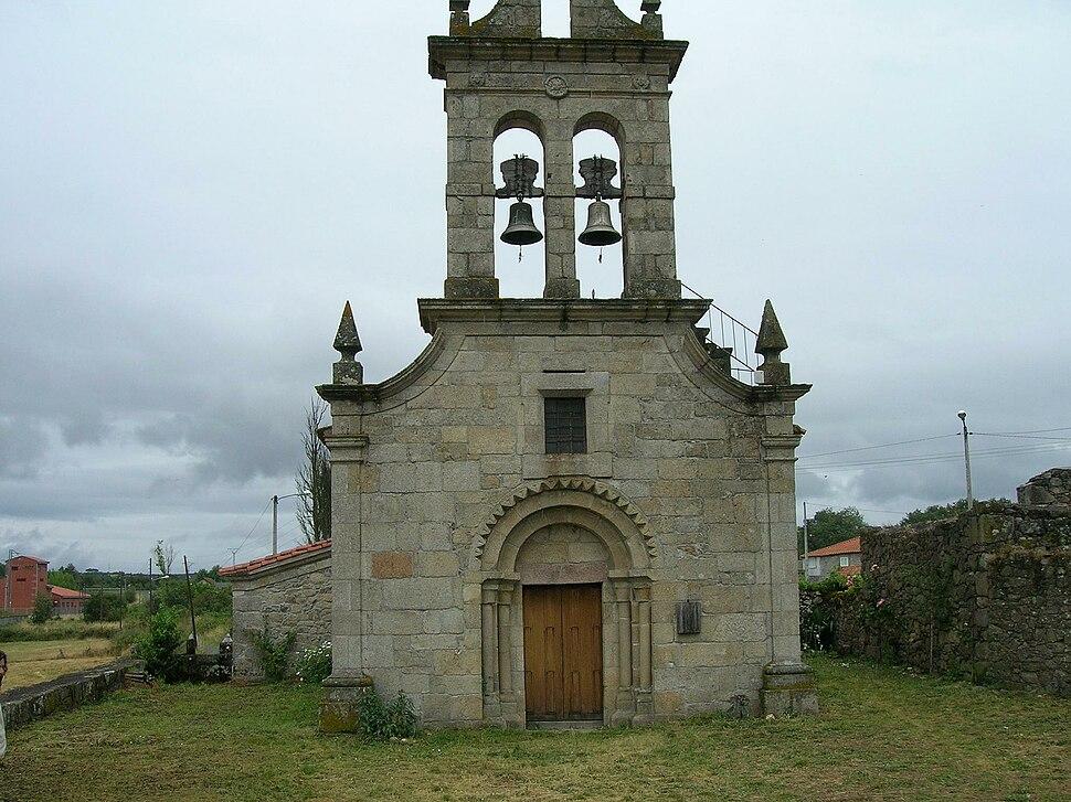 Igrexa de San Pedro de Canabal, Sober, Galiza