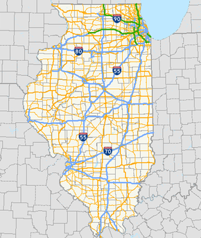Illinois State Highway System - Wikipedia