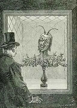 Illusion devil head