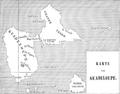 Illustrirte Zeitung (1843) 02 004 2 Karte von Guadeloupe.png