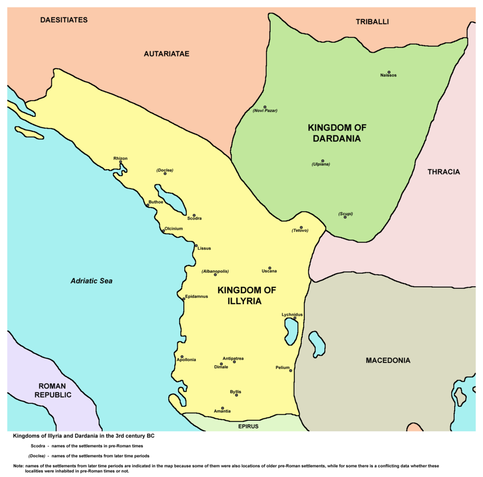 Illyria and Dardania Kingdoms