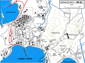 Image-Qingdao city map 1912 in german.png
