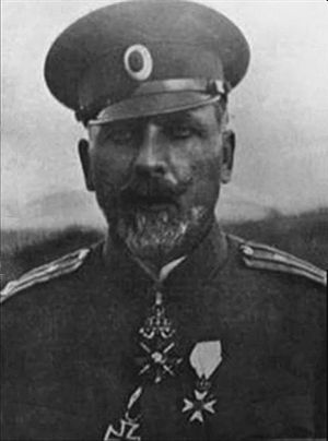 Battle of Doiran (1917) - Vladimir Vazov was a prominent General. His successful defence of Doiran made him a hero to the Bulgarians.