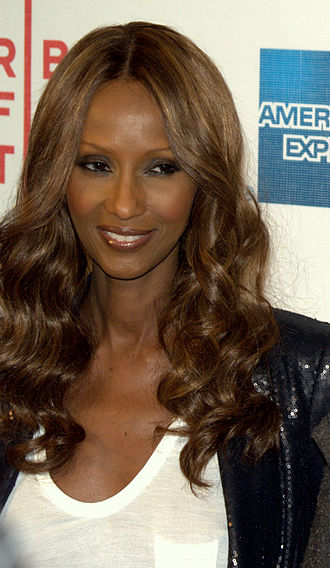 Somali Americans - Somali American model Iman