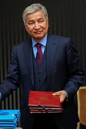 Imangali Tasmagambetov - Image: Imangali Tasmagambetov (2015 04 16)