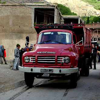 Hindustan Motors - Bedford TJ manufactured by HM in India