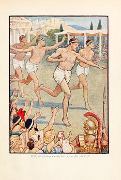 det gamle hellas olympiske leker