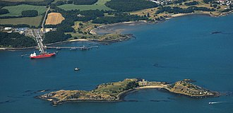Inchcolm - Inchcolm and Braefooot Bay