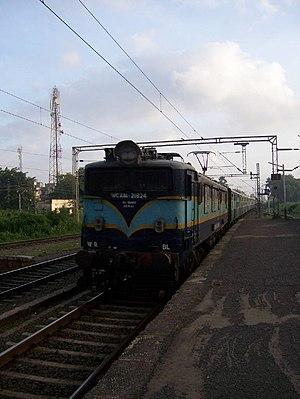 Indian locomotive class WCAM 1 - Image: Indian Railways 21824