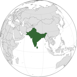 Indian subcontinent Peninsular region in South Asia situated south of the Himalayas